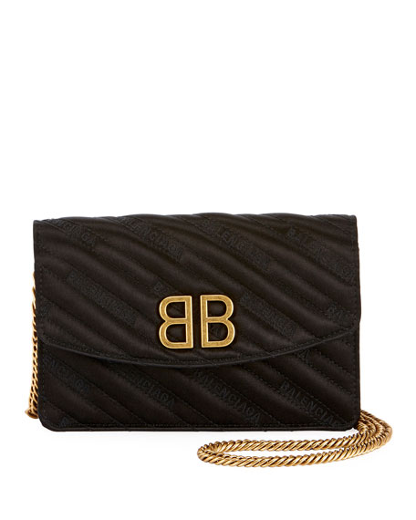 BB Quilted Wallet On Chain