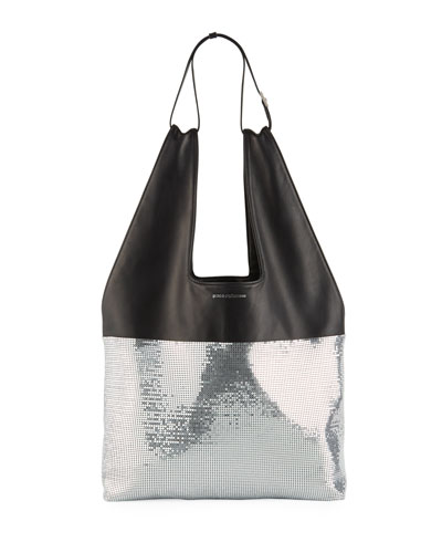 Mini Mesh Hobo Bag