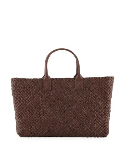 Cabat Memory Leather Tote Bag