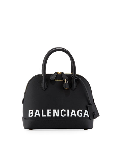 2393cbef3cba Ville Small AJ Top-Handle Bag with Logo Graffiti Quick Look. Balenciaga