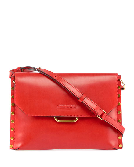 Isabel Marant Sinky New Bandoleer Leather Shoulder Bag