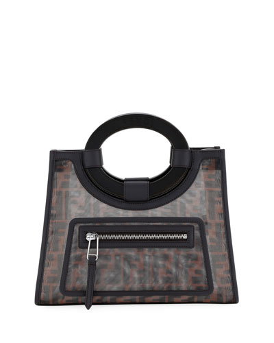 Runaway Small Mesh FF Shopping Tote Bag Quick Look. Fendi d381510c36925