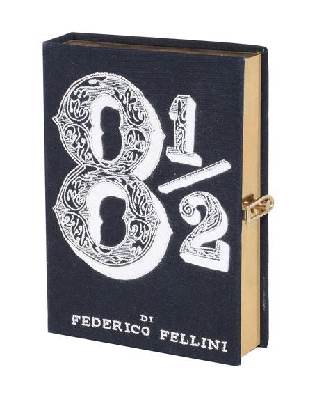 8 1/2 Film Book Clutch Bag