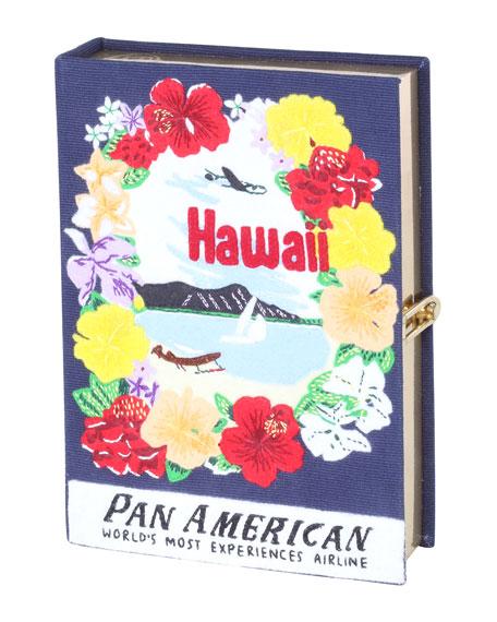Voyages Hawaii Book Clutch Bag