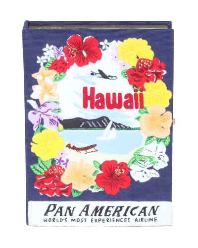 Voyages Hawaii Book Clutch Bag