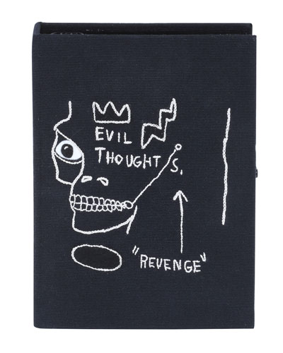 Basquiat Revenge Artwork Book Clutch Bag