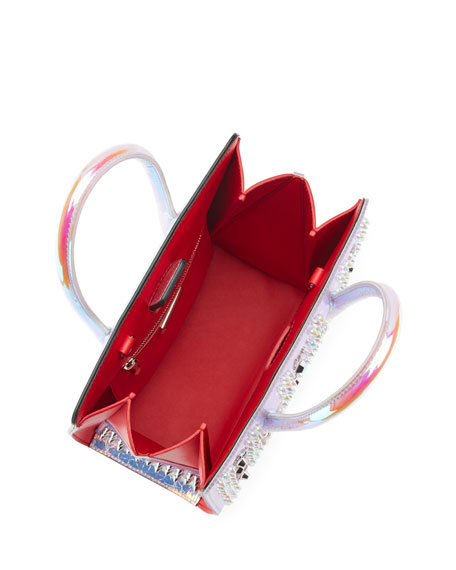 Paloma Small Iridescent PVC Tote Bag