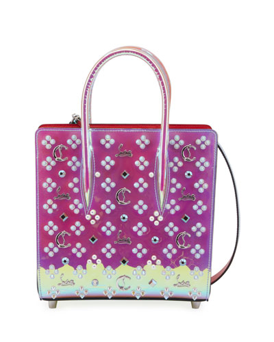 Paloma Small Iridescent PVC Tote Bag