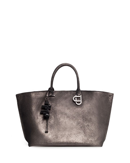 Ai Magnets Medium Leather Top-Handle Tote Bag