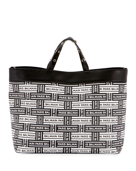 Logo Shopping Tote Bag