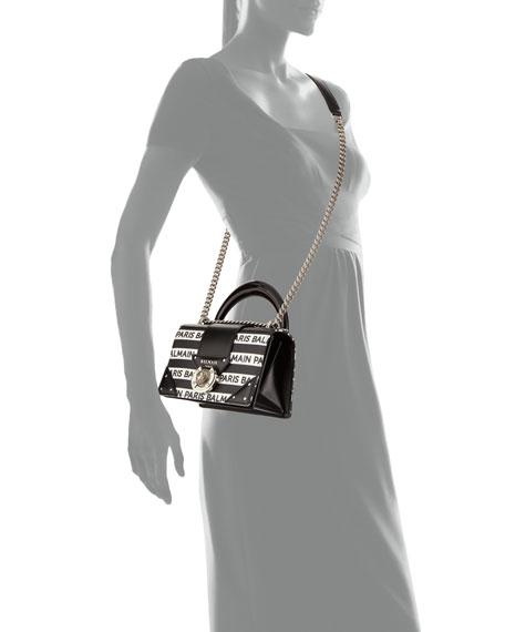 Ring Box Leather Shoulder Bag