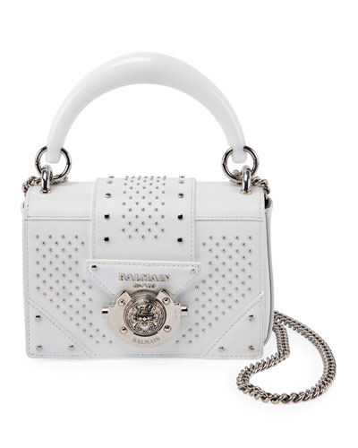 afe0314b8d8b Ring Baby Box Calf Stud Shoulder Bag Quick Look. Balmain