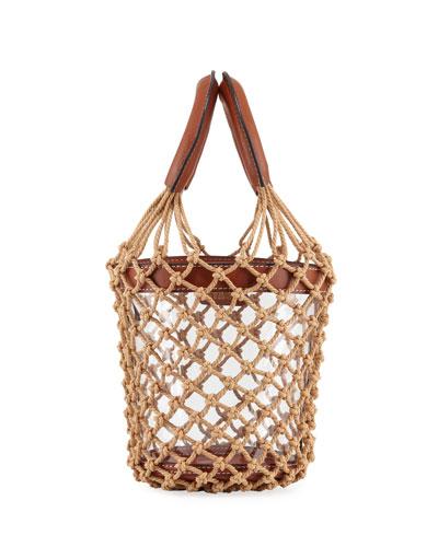 Moreau Clear Net Bucket Bag