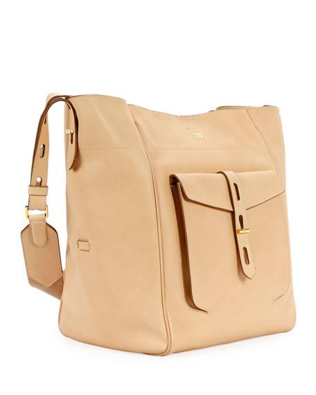 Hollywood Natural Calf Bucket Bag