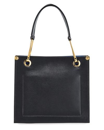 Grip Leather Shoulder Bag