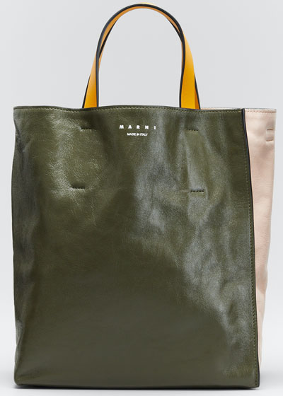 Museo Colorblock Soft Shopping Tote Bag