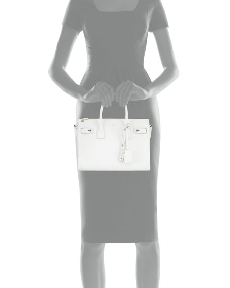 Saint Laurent Sac de Jour Baby Supple Bonded Carryall Tote Bag 86ee5784f159b