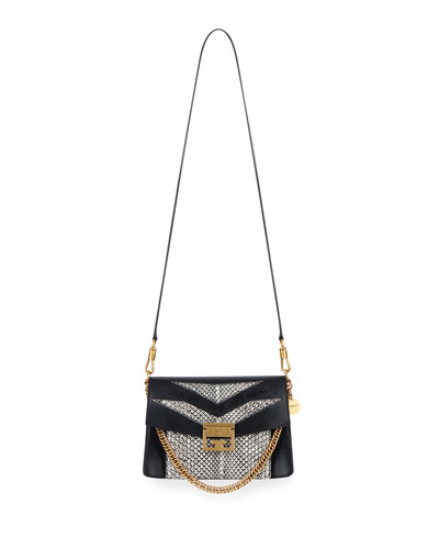 GV3 Small Python & Lizard Crossbody Bag
