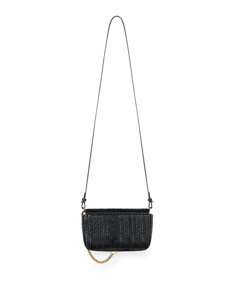 Pocket Mini Pouch Laser-Cut Convertible Clutch/Belt Bag