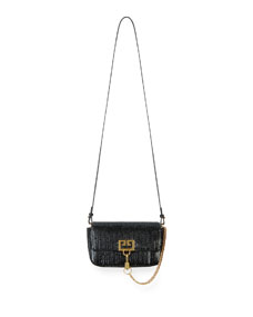 Givenchy Pocket Mini Pouch Laser-Cut Convertible Clutch Belt Bag 0c1aaa57cc549