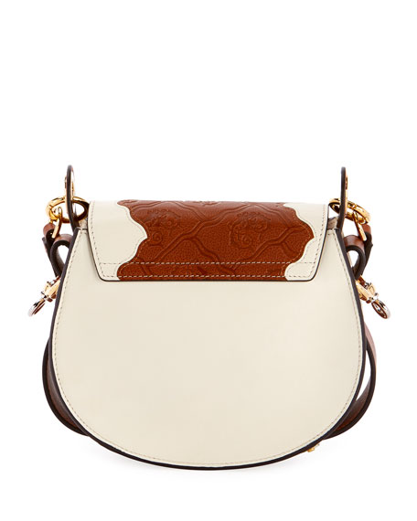 Tess Small Patchwork Satchel Bag
