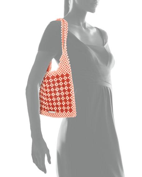 Charlie Mini Beaded Hobo Bag