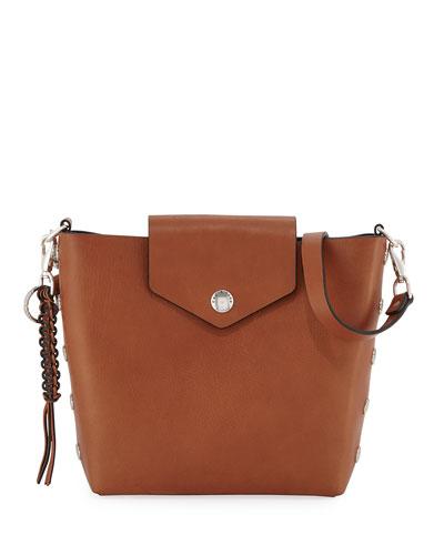 Atlas Leather Bucket Bag