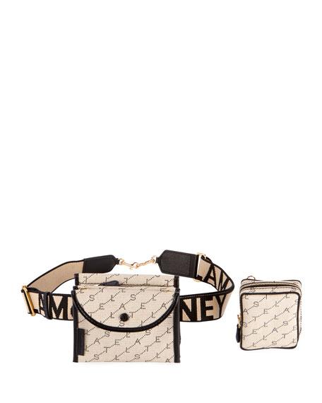 Monogram Utility Belt Bag with Detachable Pouches