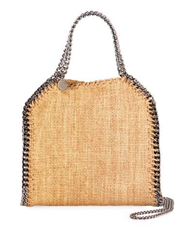 Falabella Mini Raffia Tote Bag