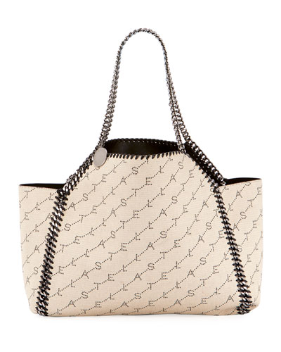 Falabella Mini Reversible Eco Monogram Tote Bag Quick Look. Stella McCartney b2ef732cbc1d5