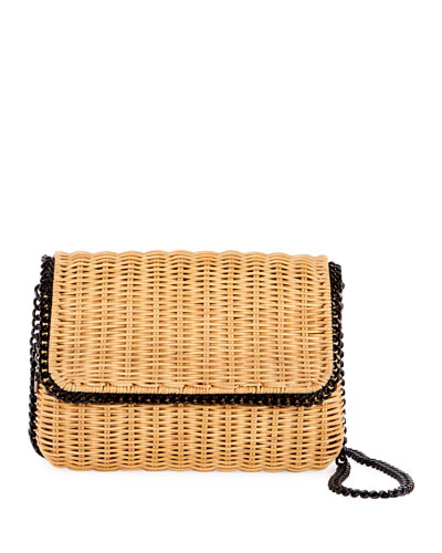 Falabella Wicker Shoulder Bag