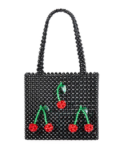 Ma Cherie Cherry Tote Bag