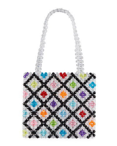 Seltzer Beaded Tote Bag