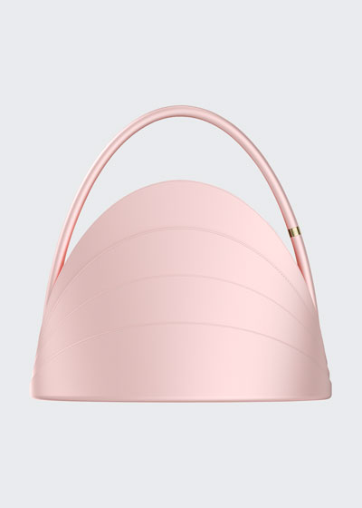 Millefoglie Layered Top Handle Bag  Pink