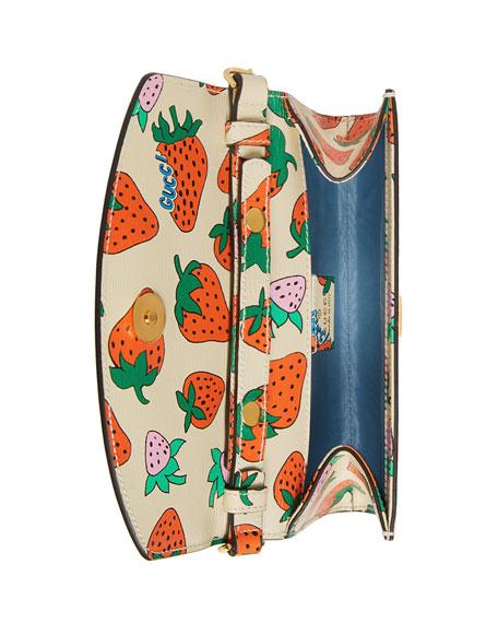 Gucci Zumi Strawberry Shoulder Bag