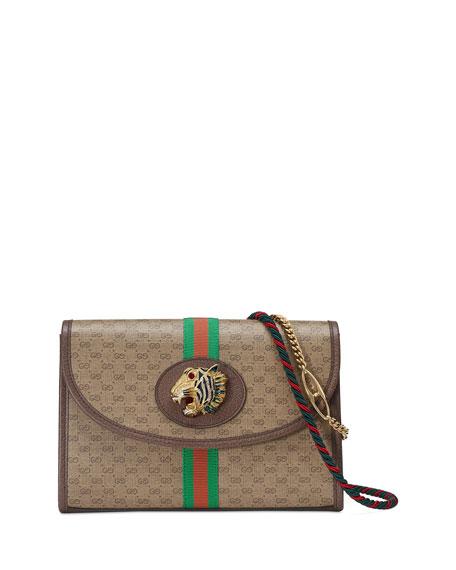 Rajah Small GG Supreme Shoulder Bag