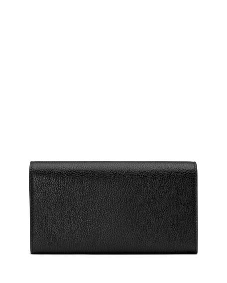 Gucci Zumi Flap Continental Wallet