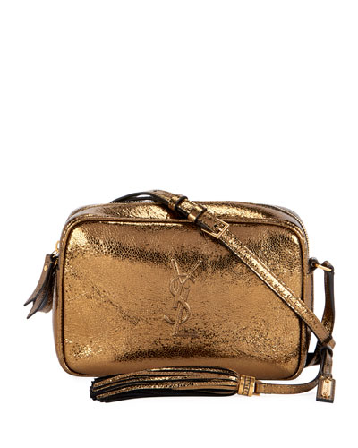 Lou Monogram YSL Medium Metallic Crossbody Bag c4f3615b95309