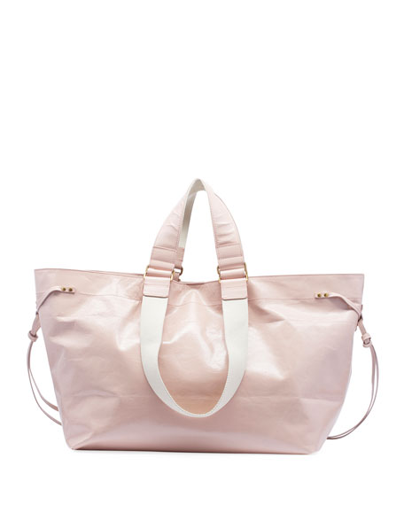Isabel Marant Wardy New Leather Shopper Tote Bag