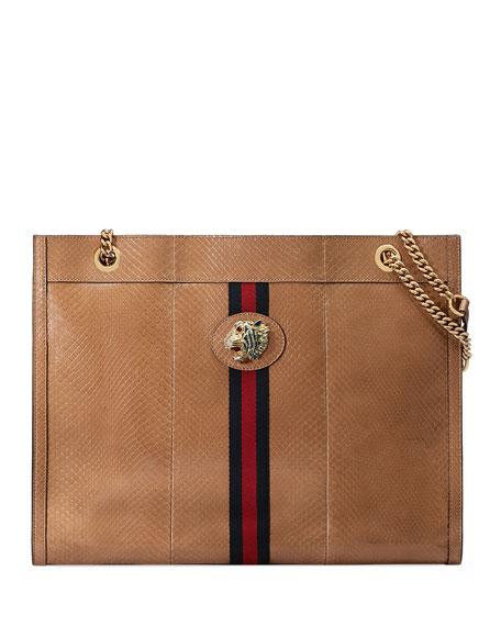 0c8f4e15b60eb9 Gucci Rajah Large Tote Bag