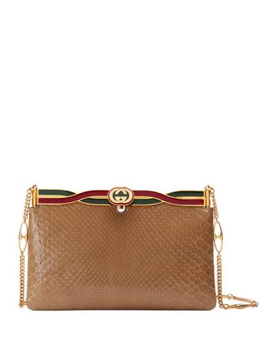 70d023f383d Broadway Python Evening Clutch Bag Quick Look. Gucci