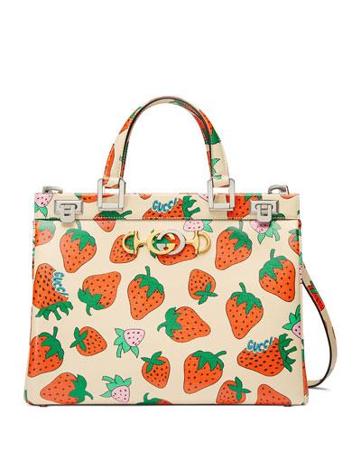 723a25e1c8 Borghese Medium Strawberry Top Handle Bag