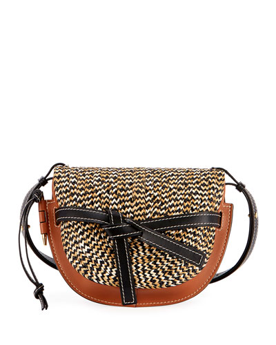 Gate Small Braided Shoulder Bag