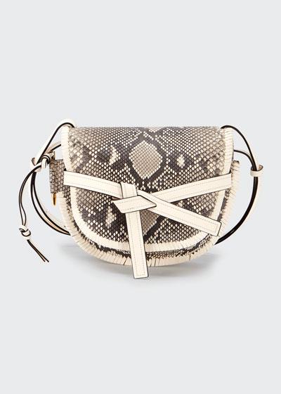 Gate Small Python Shoulder Bag