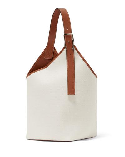 Polished Calf Balloon Shoulder Bag