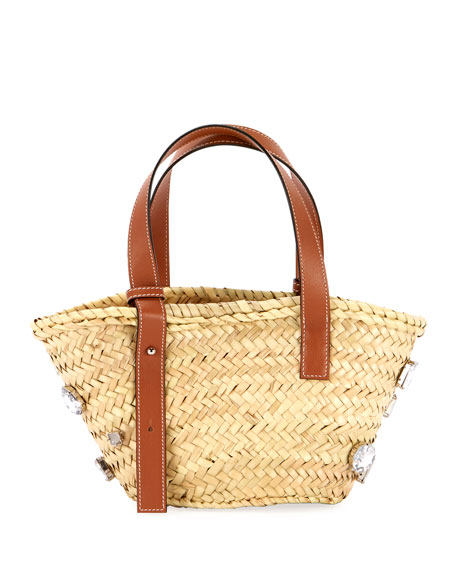 Basket Stones Small Tote Bag