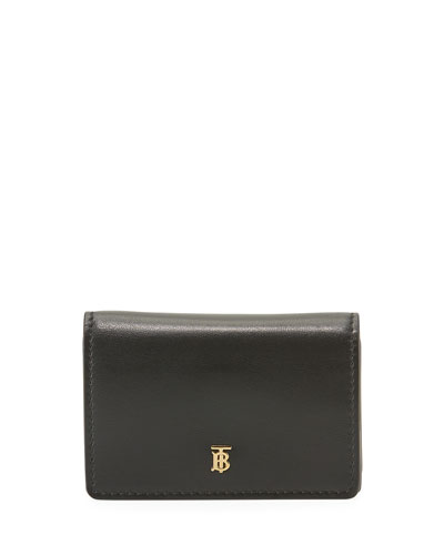 Jessie Crossbody Wallet with TB Monogram