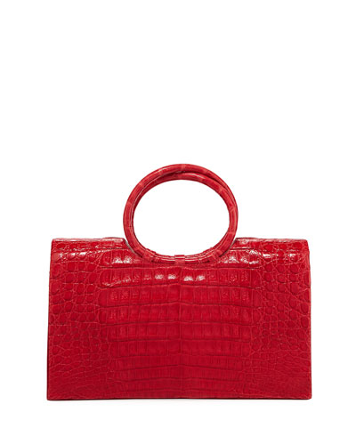 Regina Medium Crocodile Bracelet Bag