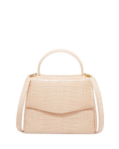Lolita Small Crocodile Top-Handle Bag