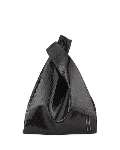Mini Shopper Python Tote Bag